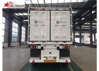 Hydraulic Wing Van Platform Semi Trailer Container Delivery With Tail Retractable