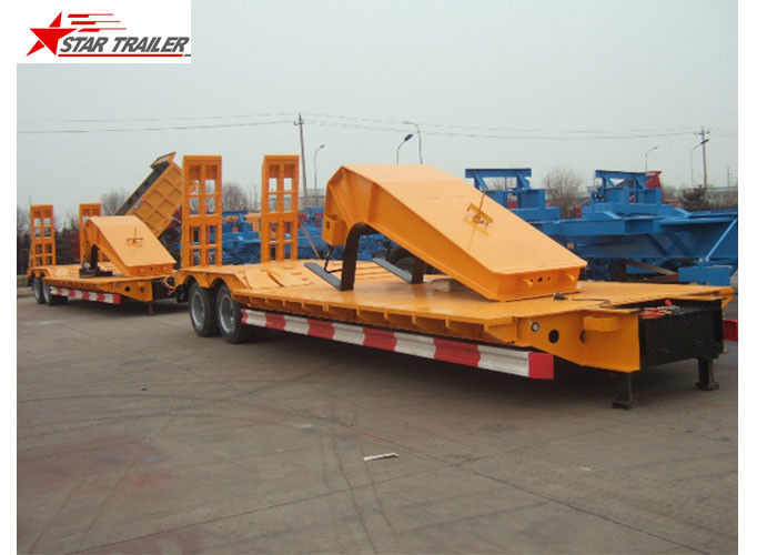 Stable Loading Heavy Duty Semi Trailers Leaf Spring Suspension With Anti - Slip Strip