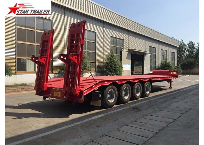 High Capacity Extendable Semi Trailer Transport Container Within Container Terminal